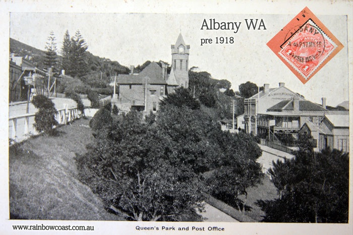 Albany WA History: Photograph of the Old Post Office pre 1918