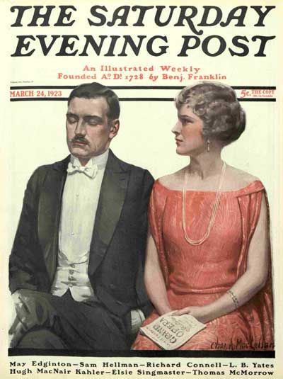 March 24, 1923Vintage Covers, 1923 03 24 Saturday, 30 Vintage, Post Magazines, Saturday Evening Post, Magazines Covers, Post Covers