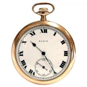 [POCKET WATCH]ELGIN 골동품 회중시계