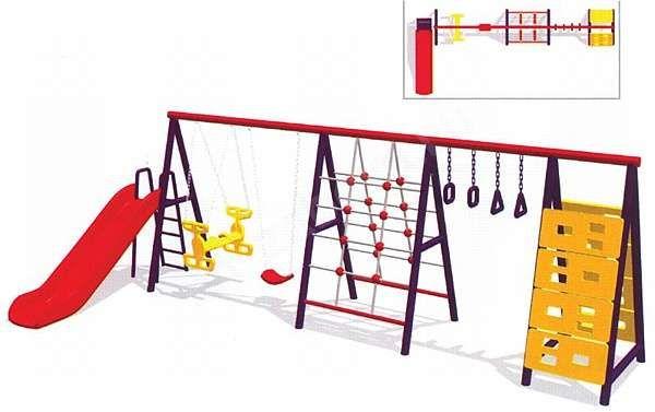136т Детская игровая площадка ККГ-006