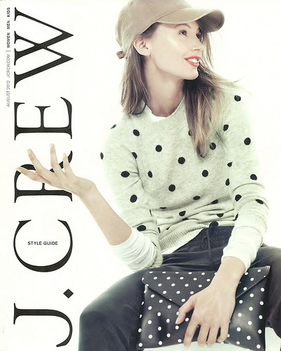 J. Crew - August 2012 -- Pre Fall collection has me ready for fall. Great skinny jeans, pencil skirts, ballet flats - lots of mix & match styles.Fashion, Auguste 2012, Polkadot, J Crew, Fall, Style Guide, Jcrew, Old Navy, Polka Dots Sweaters