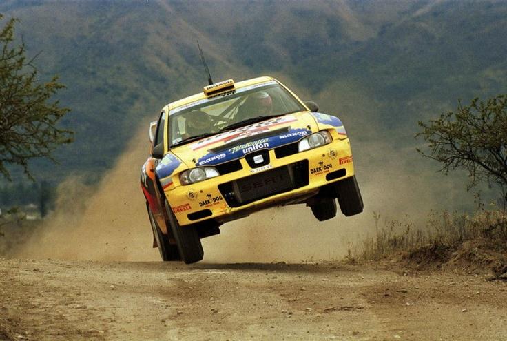 Didier Auriol-Denis Giraudet. SEAT Córdoba WRC. Argentina Rally 2000