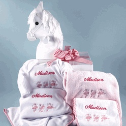 36 best personalized baby girl gifts images on pinterest baby gift simply stunning rocking horse personalized baby gift storkbabygiftbaskets storkbabygifts negle Gallery