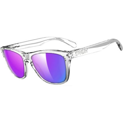 Cheap Oakley Frogskin Polished Clear Sunglasses $12.95