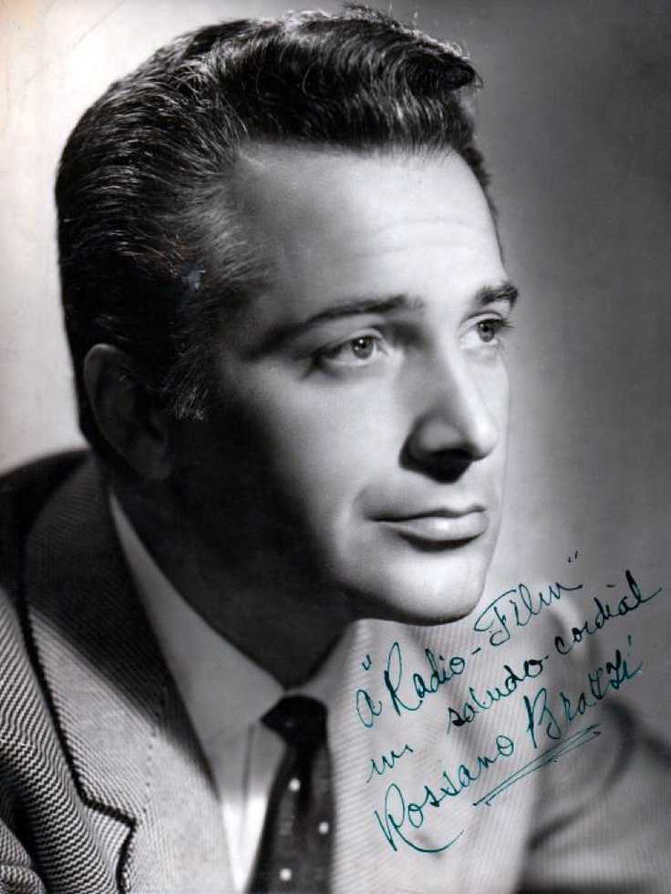Rossano Brazzi - star of South Pacific