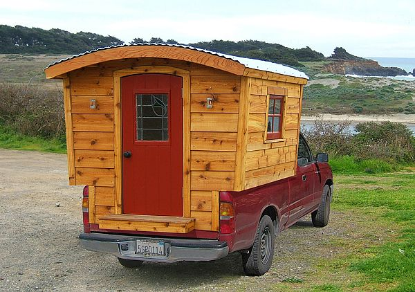 a cabin to take with you: Dreams Home, Pickup Trucks, Tiny Houses, The Plans, Gypsy, Happy Campers, Trucks Campers, Tiny Home, Trucks Beds