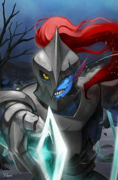 Such good Undyne fanart