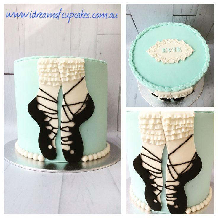 Irish dancing cake
