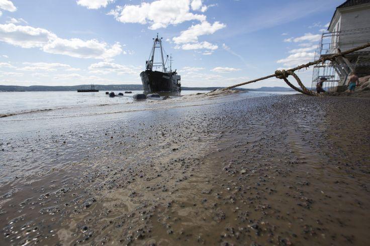 https://flic.kr/p/J8JkVE   Påfyll av sand på Oslos strender   Hvervenbukta