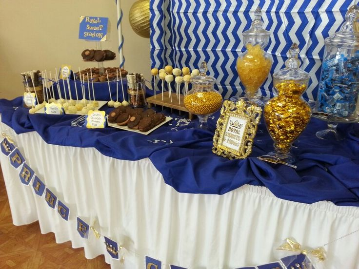 royal prince theme babyshower table prince theme royal babyshower pinterest