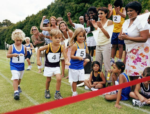 11 Fun Relay Races for Your Next Family Event - Drop the penny with Christmas Hershey kisses