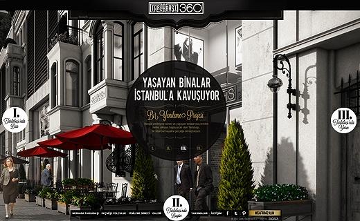 Türkiye'de geliştirdiği gayrimenkul projeleriyle güvenilir ve yenilikçi projelere imza atan Çalık Gayrimenkul'a ait Tarlabaşı 360 projesinin mobil uyumlu web sitesi tasarımı ve programlaması yapılmıştır.