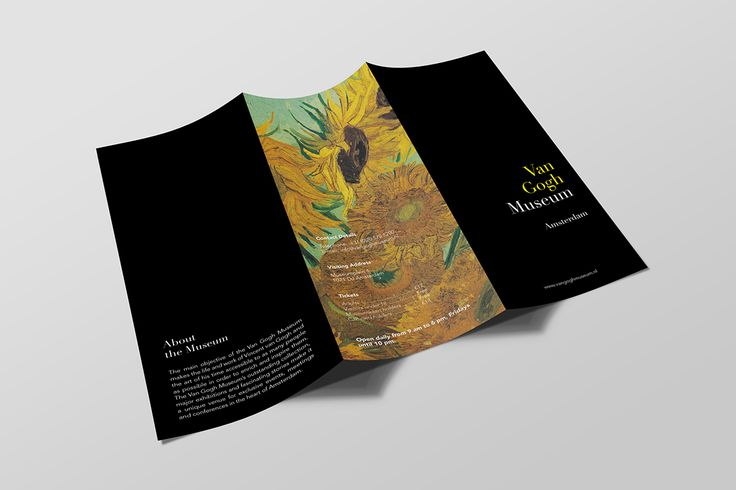 Van Gogh Museum Brochure on Behance