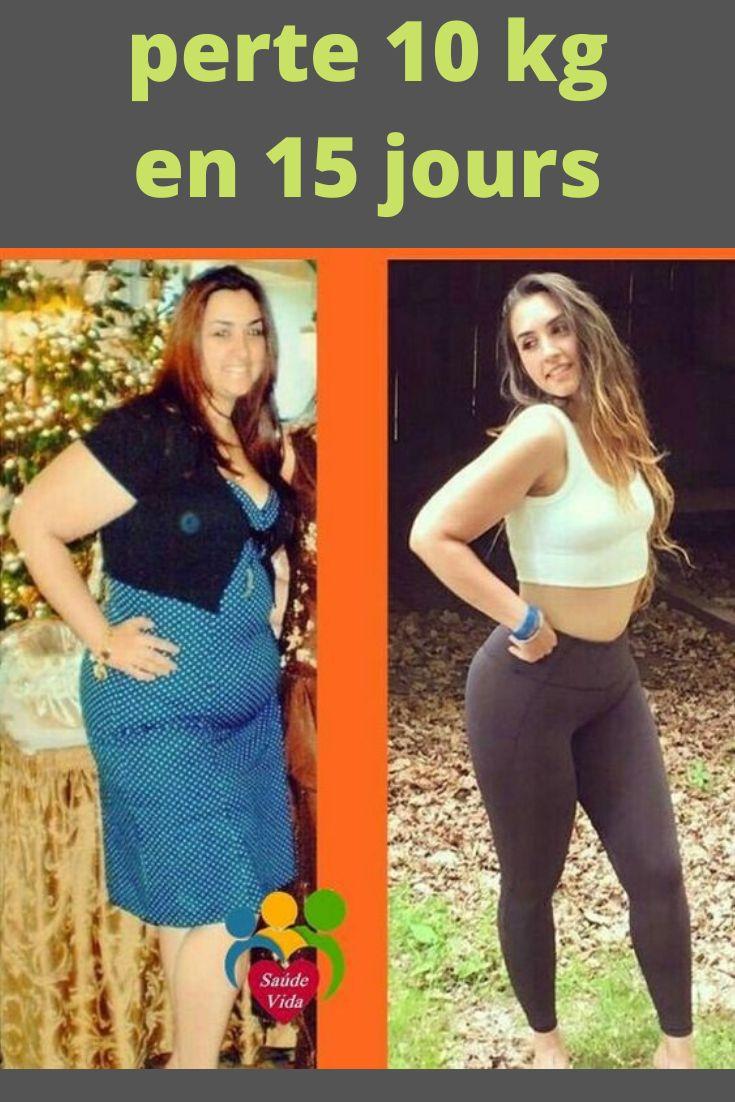 perdre 10kg en 15 jours   Perte de poids, Perdre du poids ...