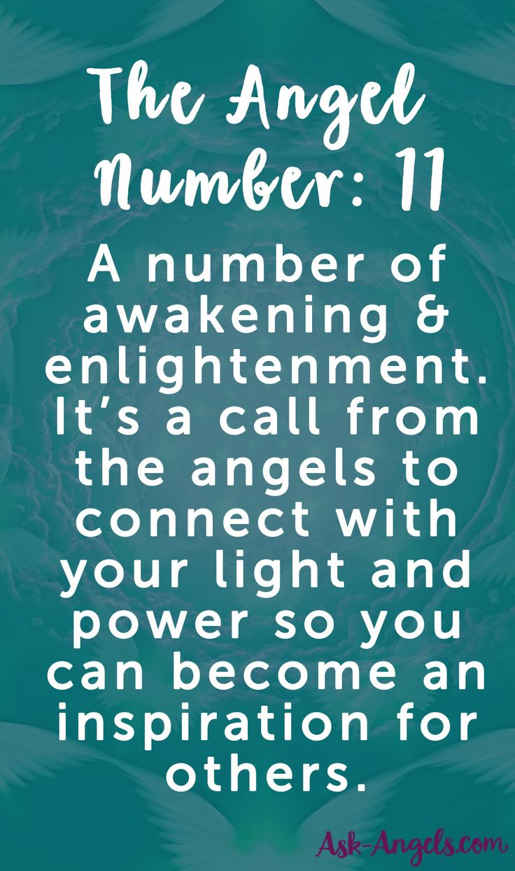 The Angel Number 11 is a number of awakening and enlightenment. Learn more about what it means here.