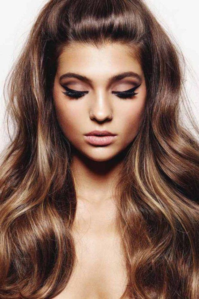 Peinados Faciles Cabello Largo Largo Peinados Faciles Cabello - Peinado-facil-pelo-largo