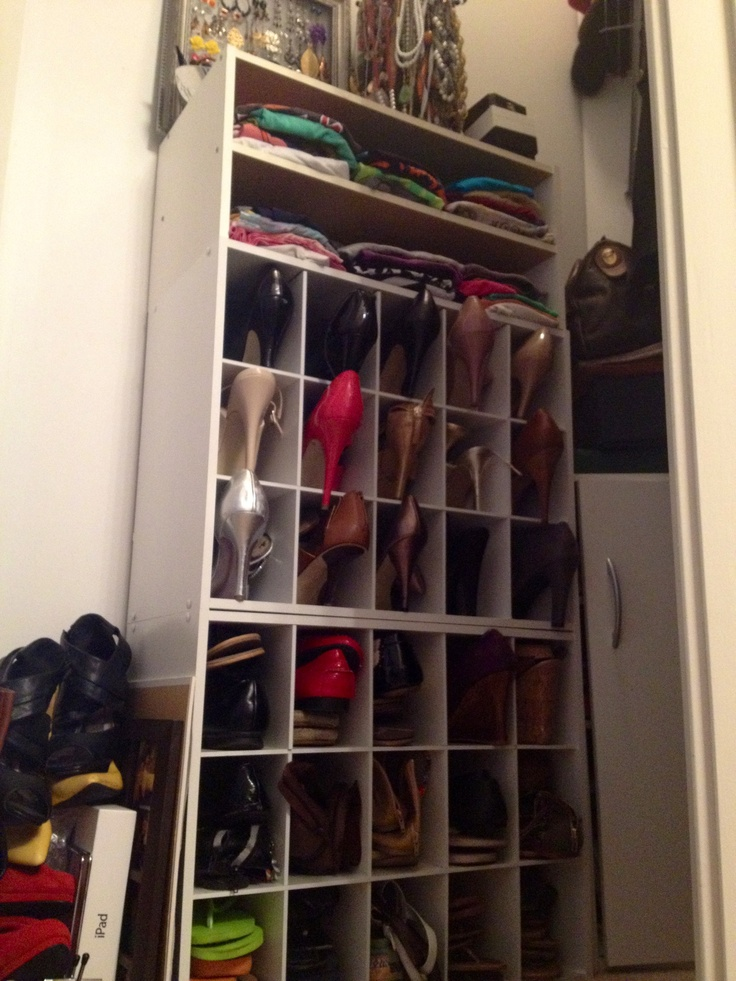 Amazing Finally Organized My Shoes So I Could Find Them Easily! I Bought Two Closetmaid  15. CubesOrganizers