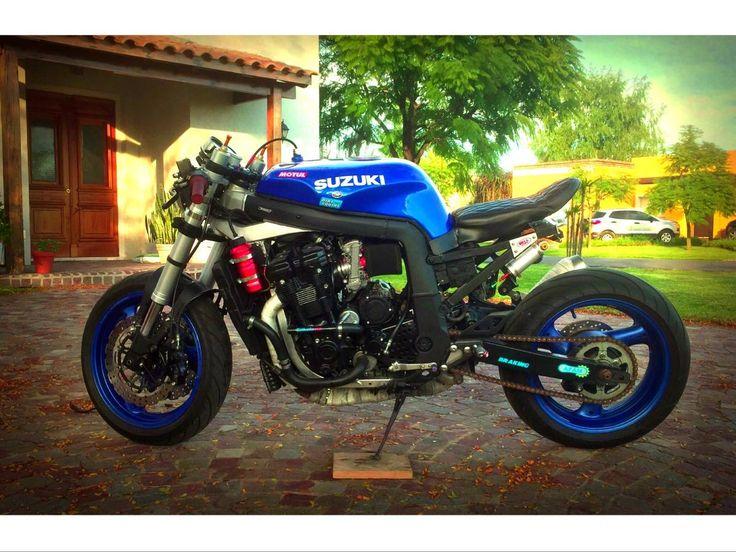 suzuki gsxr 1100 cafe racer carburadores nuevos competicion