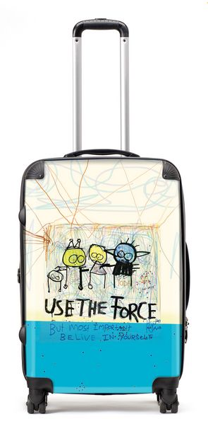 Use the force suitcase (68cm)