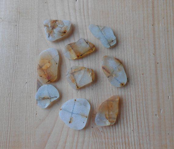 Wired safety sea glass materiali in rilievo di lepropostedimari