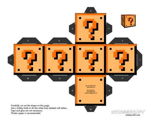Super Mario - Paper Craft