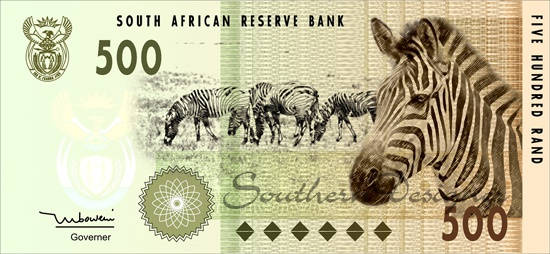 Bank note inspiration