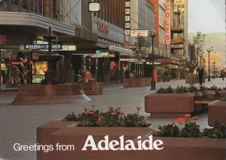 Rundle Mall, Adelaide, SA  Australia