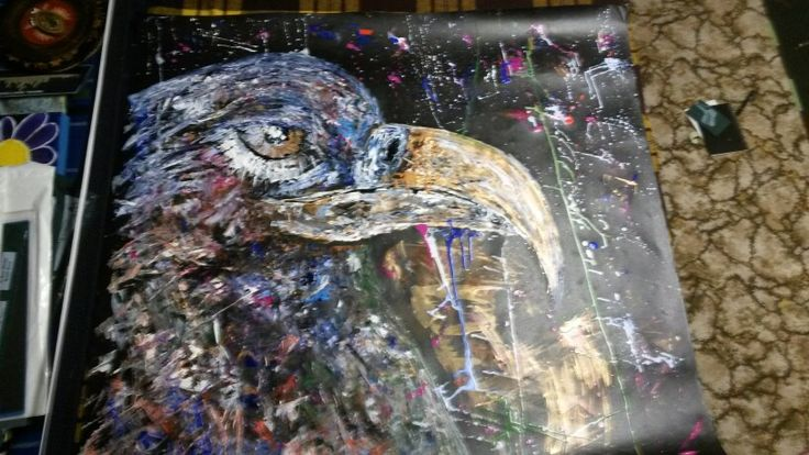Big Eagle- Aycrlic Painting