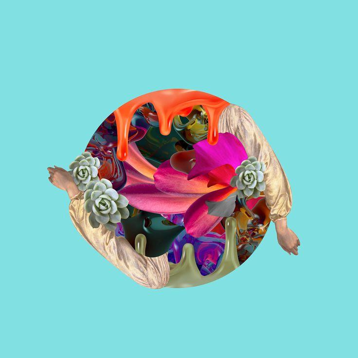 DJ Raff | Echoes EP Artwork on Behance