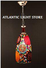Arabian lampes mosaïque, lanterne marocain, lustre, Turkish Light, lampe suspendue, éclairage, lumière de plancher de mosaïque