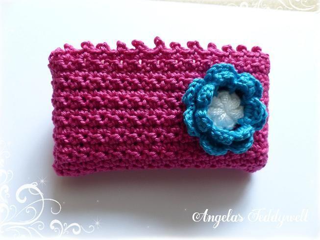 Taschentüchertasche++♥+PINK+♥+von+Angelas+Teddywelt++auf+DaWanda.com