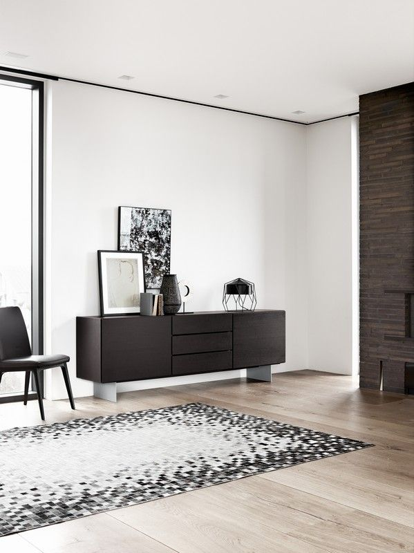 Lugano designer sideboard Sydney - black