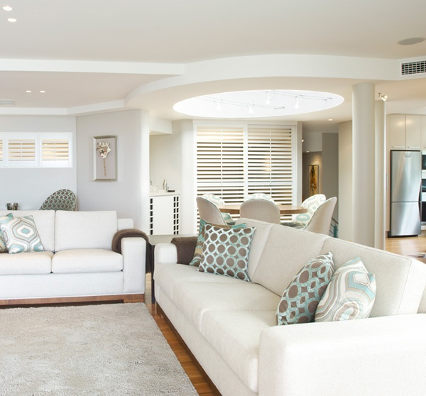 Residential Interior Design Company in Sydney – Karanda Interiors  #residential #interior #design #sydney #lounge #white