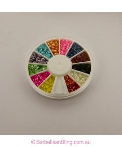 $7.50 Pearl Stone Wheel - Hearts