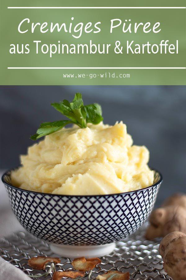 Topinamburpuree Mit Kartoffeln Und Muskat We Go Wild Rezept Rezepte Topinambur Topinambur Rezept