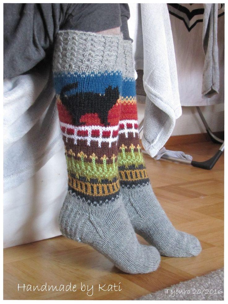 Knitting, Socks,