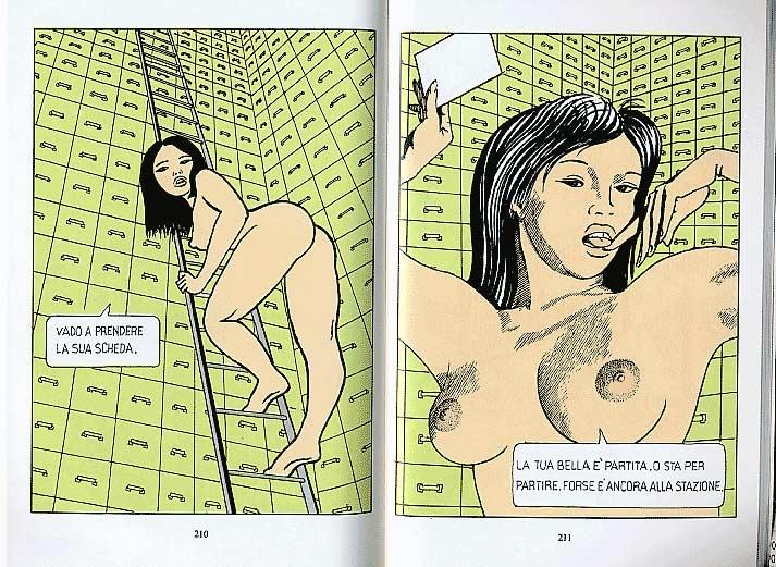 Dino Buzzati, Poema a fumetti