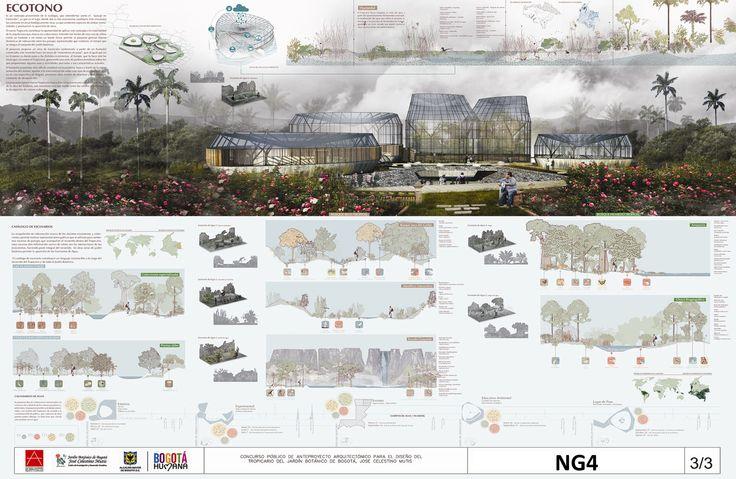 Galería - Anuncian ganadores del concurso de diseño del Tropicario del Jardín Botánico de Bogotá - 1