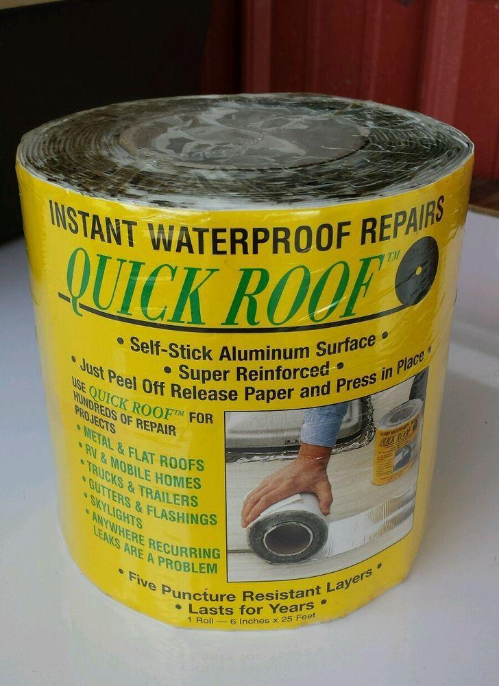 """Cofair Products QR625 6"""" X 25' Aluminium Quick Roof Tape New #Cofair"""