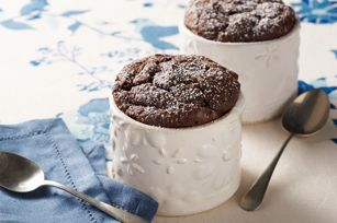 Soufflés au chocolat pour deux