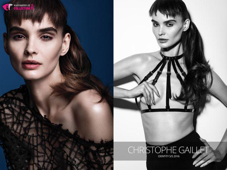 Účesy Christophe Gaillet Identity S/S 2016.