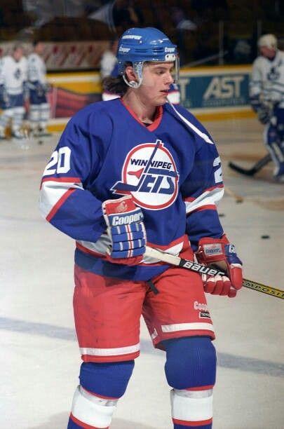 Oleg Tverdovsky | Winnipeg Jets | NHL | Hockey