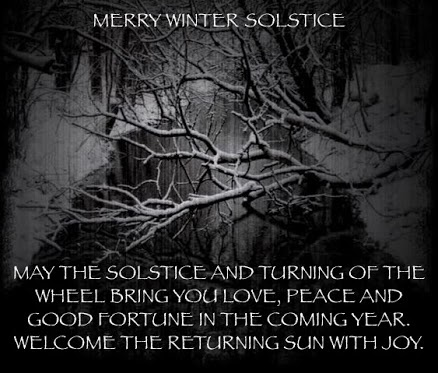 A blessing to remember. winter solstice, sabbath. WICCA & PAGANISM - Pictures - Google+