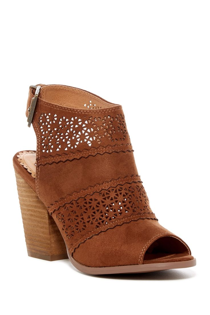 Image of Lucky Brand Hartlee Peep Toe Bootie
