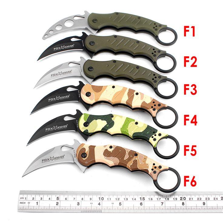 $9.89 (Buy here: https://alitems.com/g/1e8d114494ebda23ff8b16525dc3e8/?i=5&ulp=https%3A%2F%2Fwww.aliexpress.com%2Fitem%2FNew-FOX-Karambit-folding-knife-440C-blade-outdoor-camping-survival-tactical-pocket-knife-aviation-plastic-handle%2F32719513022.html ) New FOX Karambit folding knife 440C blade outdoor camping survival tactical pocket knife aviation plastic handle hunting knife for just $9.89