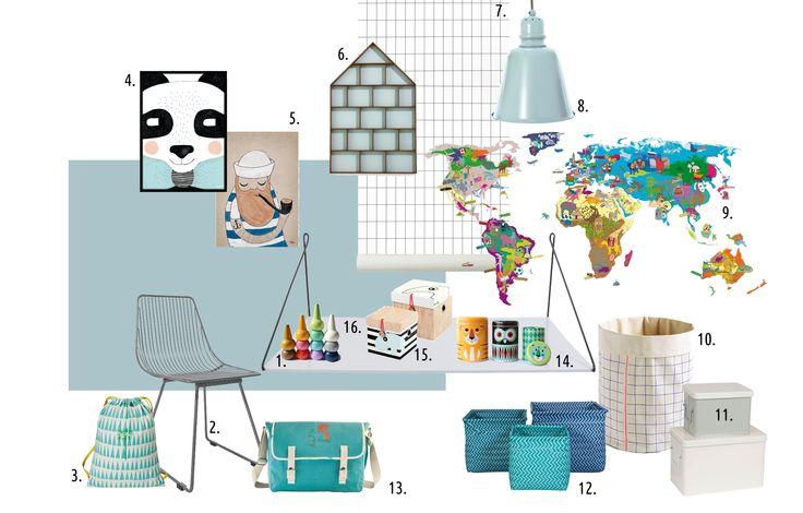Design board by mukaki in mint&azur