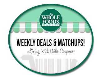 Whole Foods Match Ups 12/31 - #coupons and #frugal living blog