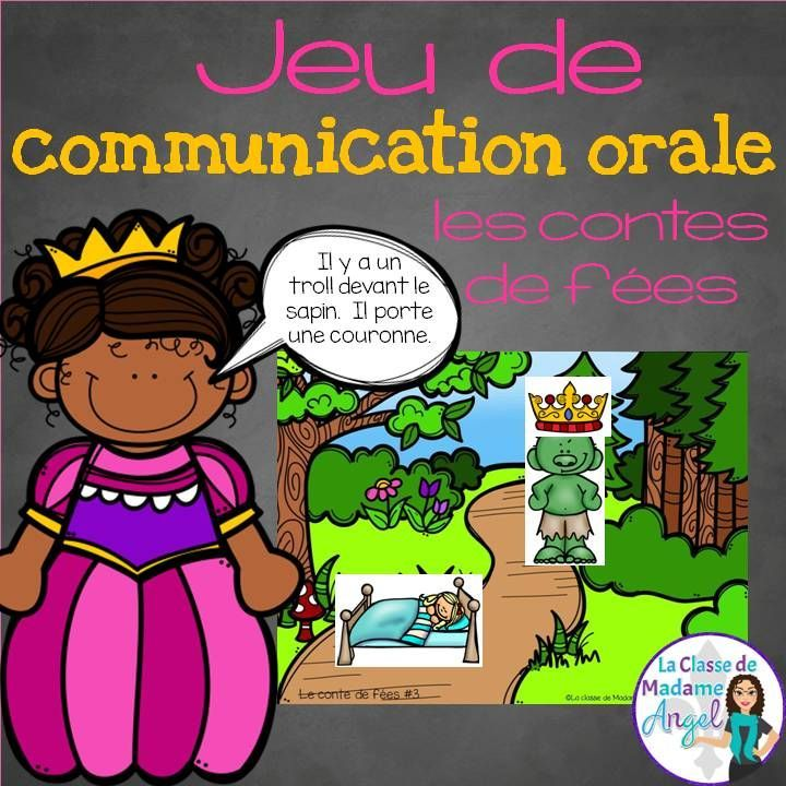 Les contes de fées - Great resource to get your French students talking! My students love these barrier games. They are the perfect addition to your Fairy Tale Unit!