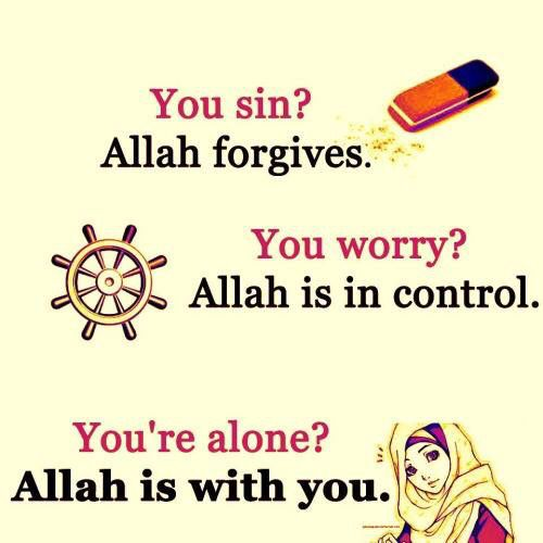 Allah forgives