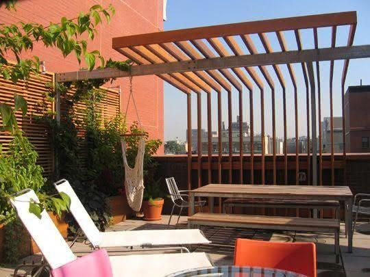 Canisse Sur Pergola. Cheap Another Beautiful Of Corten Steel Arbors ...